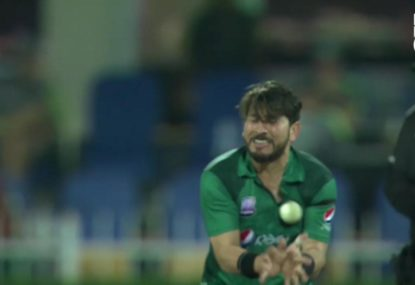 Yasir Shah suffers horror night in the field