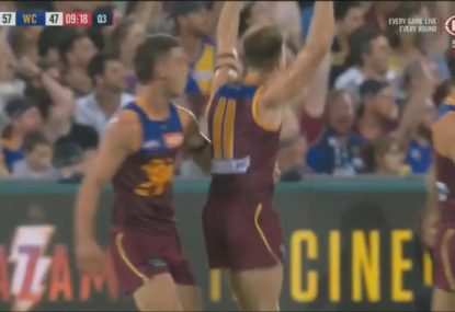 Lincoln McCarthy's monster bomb sums up Brisbane's dominance over reigning premiers