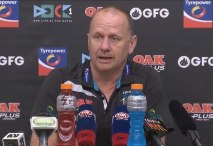 Hinkley: Win over Melbourne was best I've been involved with at Port Adelaide