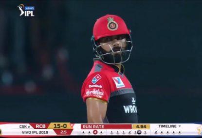 Indian bowler kicks off IPL with the worst ball Virat Kohli's ever faced