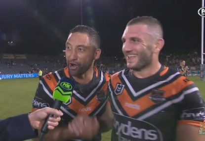 Benji gatecrashes interview to sledge Robbie Farah