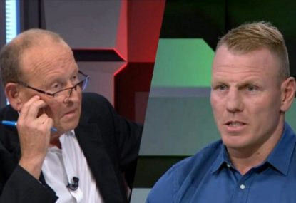 Luke Lewis fires back at Phil Rothfield over salary cap report