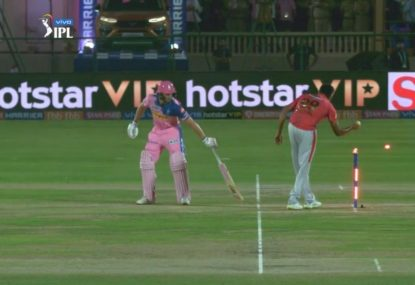 Ravi Ashwin deploys controversial mankad to dismiss Jos Buttler
