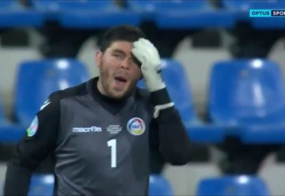 Andorra goalkeeper has a howler for the ages