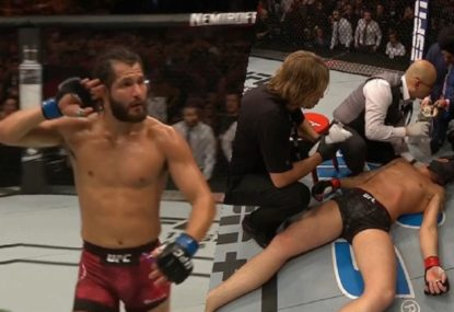 Jorge Masvidal silences the UFC London crowd with thunderous KO