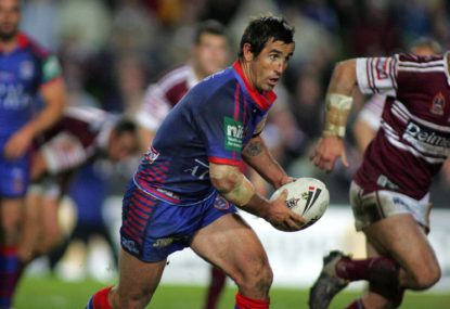 Newcastle deserve a statue of Andrew Johns at McDonald Jones Stadium