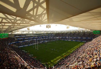Waratahs' fans to be tested at the new Bankwest Stadium tonight