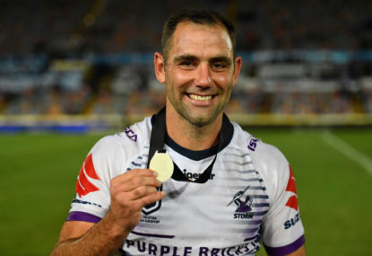 Cameron Smith brings up 400 as Storm thump Sharks