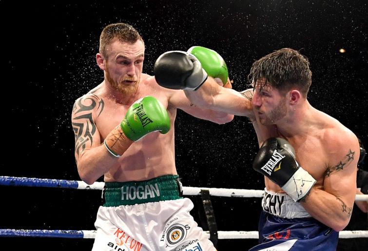 Aussie-Irish boxer Dennis Hogan