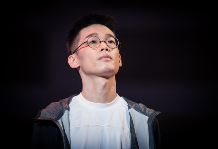 Taiwan's Roger (Luo Shengyuan) at the Hearthstone World Championship.