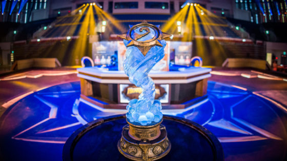 The trophy at HCT Taiwan