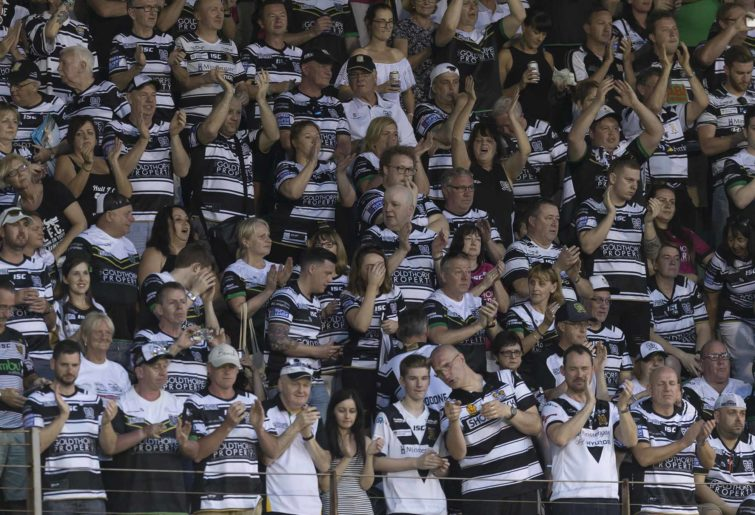 Hull FC rugby league fans generic crowd
