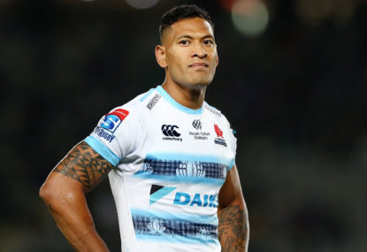 Folau's contract officially torn up by RA, but court challenge looms likely