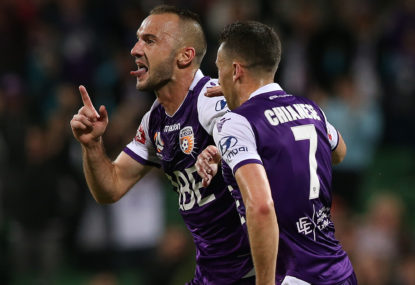Perth Glory aren't champions until they win the grand final