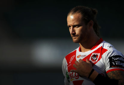 Korbin Sims played with broken arm against Newcastle