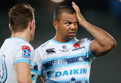 Waratahs pinged off the park by referee Egon Seconds