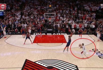 Damian Lillard's ice cold 37-foot buzzer-beater sends the Thunder out of the playoffs