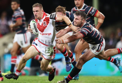 Matt Dufty to halfback for the Dragons?