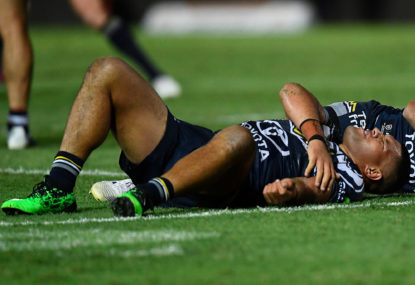 NRL drops referees involved in Cowboys injury clanger