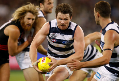 At this point, it's Geelong's flag to lose