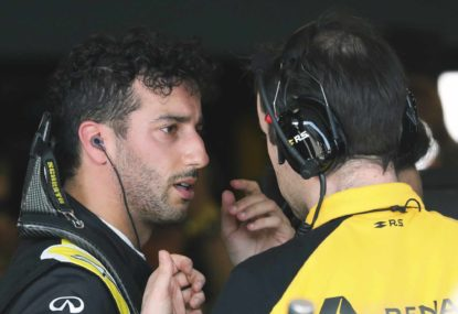 Ricciardo's growing Renault reality