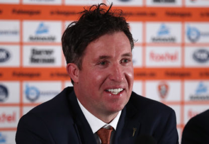Robbie Fowler makes dream debut against Sydney FC