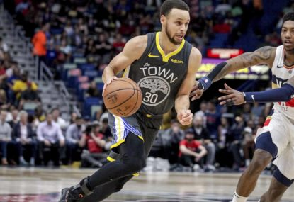 Steph Curry will be the NBA's 2019-20 MVP