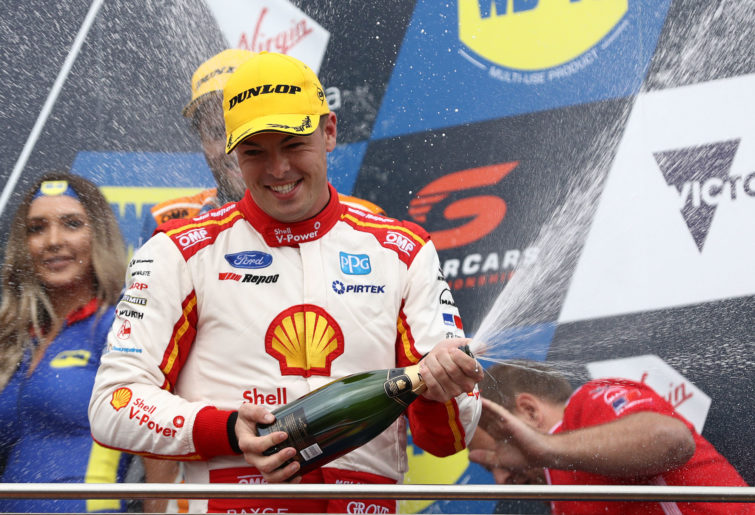 Shell V-Power's Scott McLaughlin.