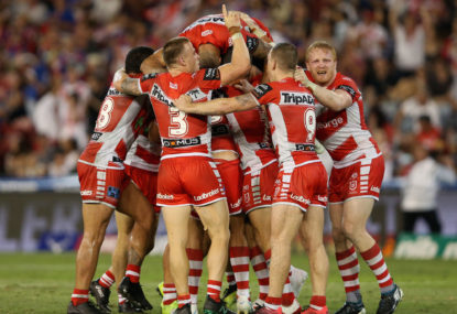 St George Illawarra Dragons vs Canterbury Bulldogs: NRL live scores, blog