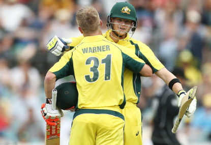Australia's World Cup campaign rests with Warner, Smith, Maxwell and Cummins