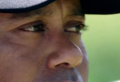 Nike released an ad as soon as Tiger won and it's magic