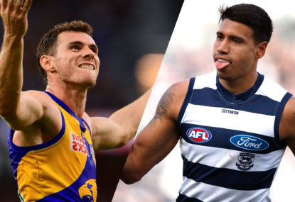 LISTEN: Do Geelong and West Coast have the best midfields in the AFL?