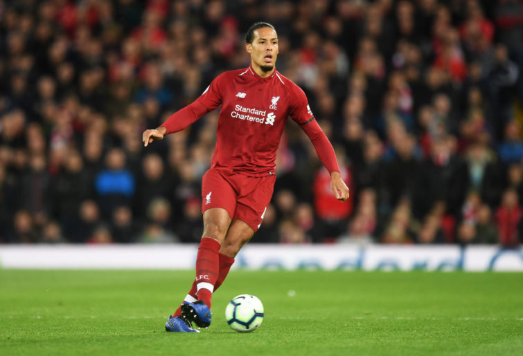 Liverpool defender Virgil van Dijk.