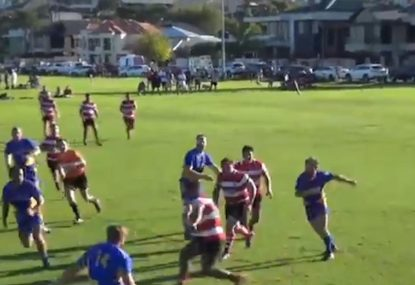 Perfect line ball sets up runaway try