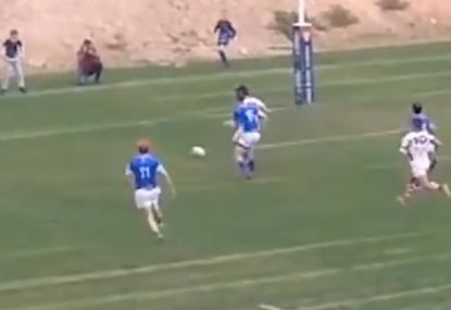 Spanish rugby player concedes controversial penalty try