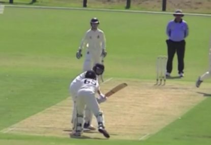 Was this keeper robbed of an insanely brilliant legside stumping?