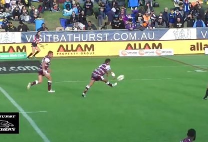 DOUBLE chip-and-chase try is a mix of ridiculous luck and skill