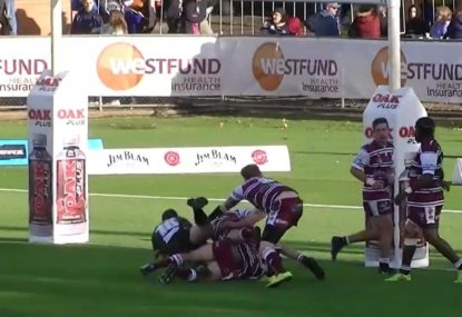 KNOW YOUR LAWS: Is a tackle completed in this never-say-die try?