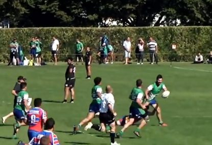 Sonny Bill Williams-esque offloads pepper epic trip to the try-line