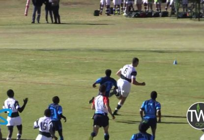 Huge No. 8 uses his size to rattle through hapless defenders