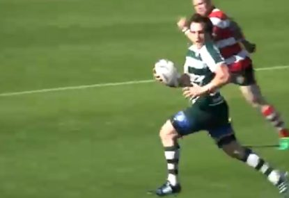 Textbook hit and spin ruins defence to set up super meat pie