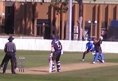 SHOT! Melbourne grade side's big-hitting masterclass of a season