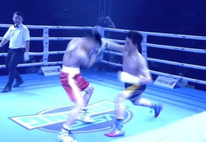 Boxers rain down haymakers galore in wild third round start