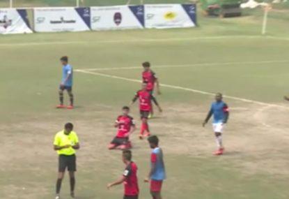 GOAL! Fake free kick sets up brilliant long-range goal
