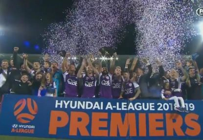 Perth lift Premiers' Plate after victory over Newcastle