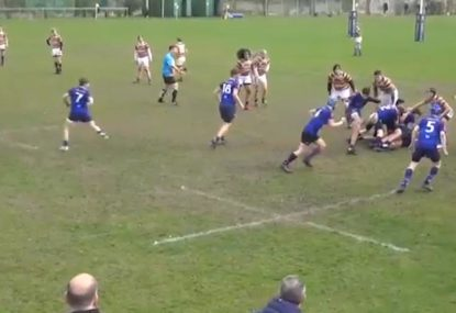 Wily box kick into space is every winger's dream