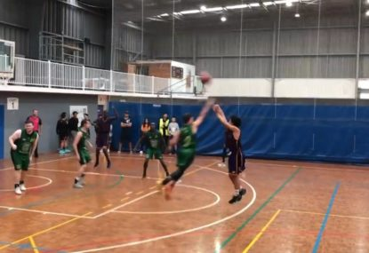 Curry-esque 15 year-old Aussie prodigy dominates U21s side
