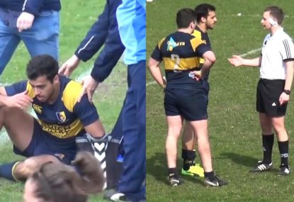 """""""You'll thank me later in life,"""" Refs perfect approach to nasty concussion"""