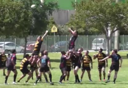 Quicksilver try off line-out play leaves defenders stunned