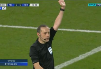 Major drama as VAR overturns Man City's Champions League quarterfinal winner
